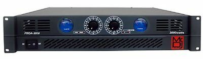 Mr. Dj PROA3000 PRO Series Power Dj Amplifier with 2 Channels and 3000 Watts