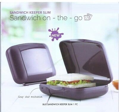 tupperware sandwich keeper Square - Brand New - Free Shipping