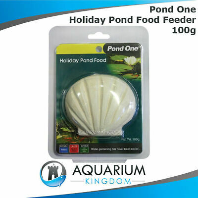 Pond One Holiday Pond Food 100g Feeder Block - Goldfish / Koi Fish Vacation