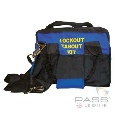 Lockout Tagout Blue Bag - Small