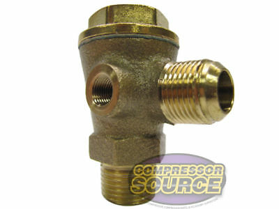Senco Compressor 1/2 Male NPT Compressed Air Check Valve OEM Replacement 2414025