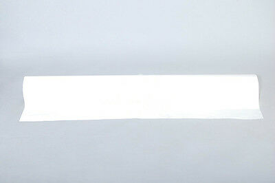 White REFLECTIVE FABRIC sew Silver White on material 1Mx0.3M CCC-3M-TU
