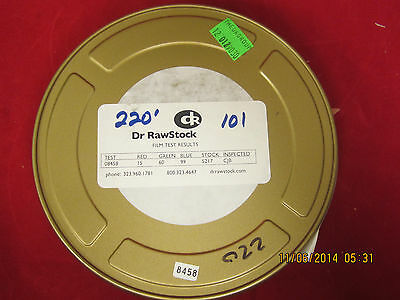 Eastman 5217 Color Negative Test Film  220ft New Old Stock!