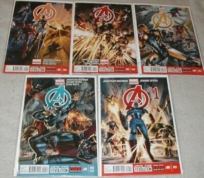 Avengers V.5 U-PICK ONE #1,2,3,4 or 5 Marvel Now Issues PRICED PER COMIC