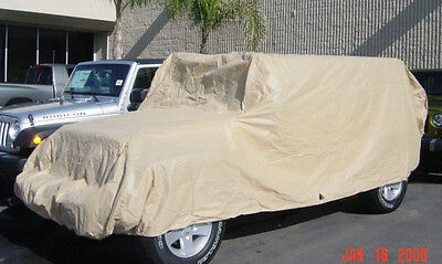 Jeep Covers Fit 2007-2020 Jeep 4 doors Cover All Weather Protect. Easy On/Off