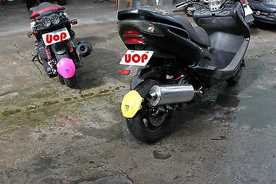 ADJUSTABLE  REAR FENDER FOR ZUMA & other 125cc 150cc with Double Shock Absorber