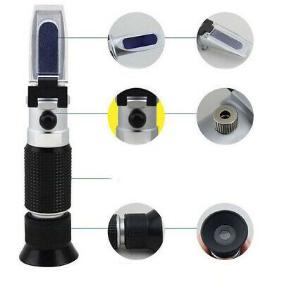 Alcohol Refractometer 0-80% W/W RHW-80ATC Black color