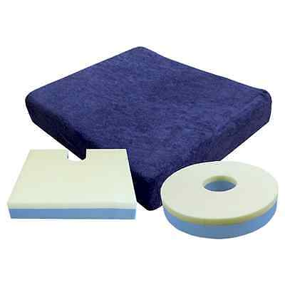 Deluxe Comfort Wheelchair Cushion - Memory Foam Topped, Wheelchair Accessory