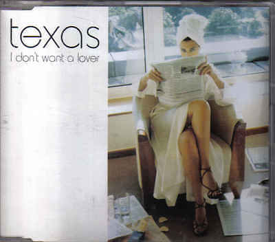 Texas-I Dont Want A Lover Promo cd single