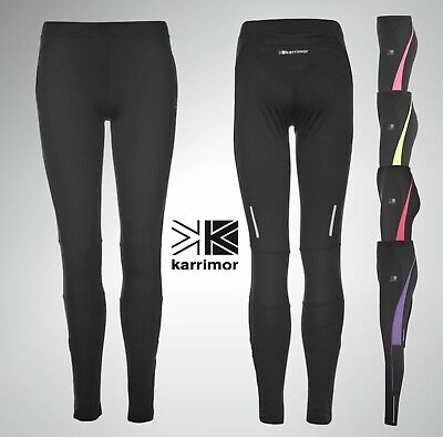 Ladies Karrimor Running Tights Sport Fitness Long Leggings Size 8 10 12 14 16 18