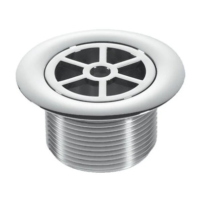 "Replacement Shower Drain Top Waste Trap Chrome Plated ABS 1.5"" INCH Thread"