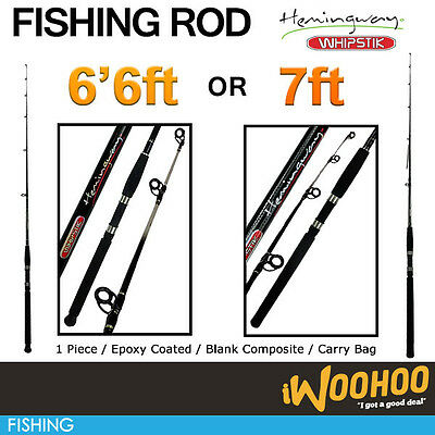 6'6ft & 7ft Whipstik Fishing Rods - Must have rod - epoxy coated - HIGH QUALITY