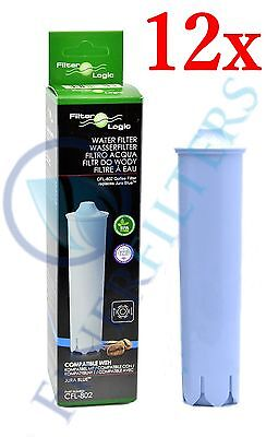 12 x FILTERLOGIC COMPATIBLE WATER FILTERS TO FIT JURA CLARIS BLUE COFFEE MAKER