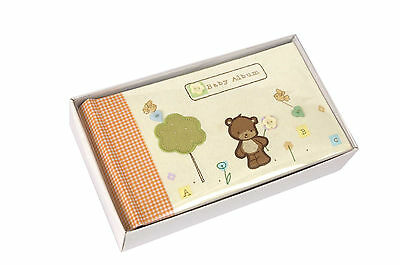 New Baby Bear Button 6 X 4 Neutral Girl Boy 100 Photographs Memo Space Slip In