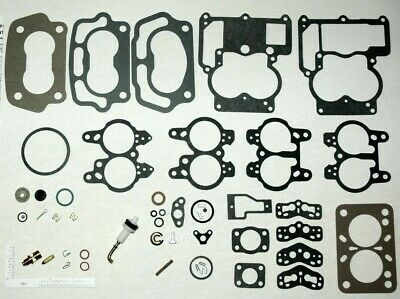 NEW 1969-71 CARB KIT /& FLOAT 4 BARREL 350 CHEVY ENGINE ALL ROCHESTER Q-JETS