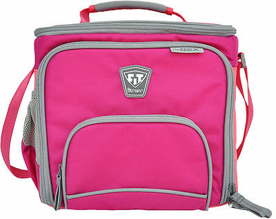Fitmark THE BOX Diet & Meal Management Fitness Bag PINK