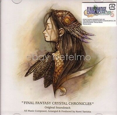 New 0004-5 Final Fantasy Crystal Chronicles Original Soundtrack CD Music Songs