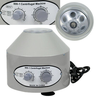 Electric Centrifuge Machine Lab Medical Practice 110V 800-1 4000 rpm Lower-speed