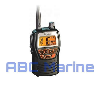 Cobra Marine Vhf Radio Mr Hh125 Boat **ideal Gift**