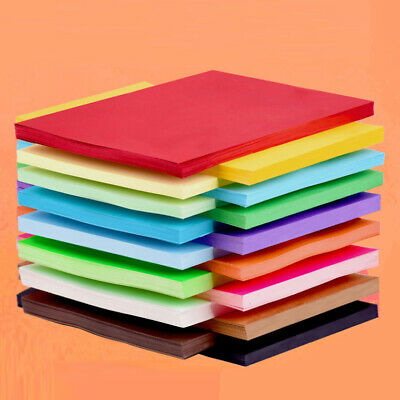 10 X 220gsm A4 Coloured Card Cardboard Craft Paper 26 Color options HIGH QUALITY