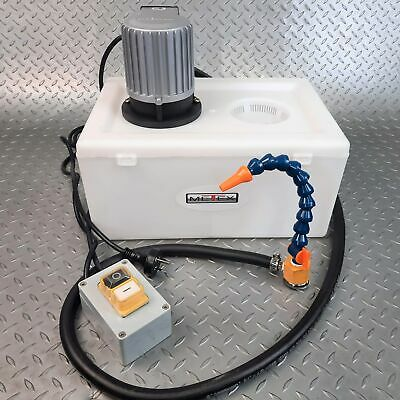 METEX Coolant Fluid Pump Milling Drilling Tapping Metal Sawing Drill Mill Lathe