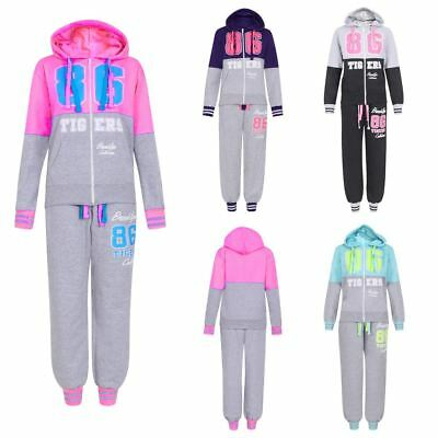 New Girls Brooklyn 86 Tigers Tracksuit 1-6 Years
