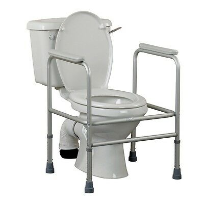 Days Adjustable Steel Toilet Surround Provdes Extra Support & Saftey