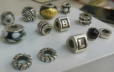 Genuine Sterling Silver Authentic PANDORA Charms
