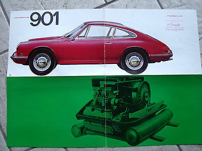 Rarissime  Catalogue  Porsche  901 911  D'origine  Avant  Intervention   Peugeot
