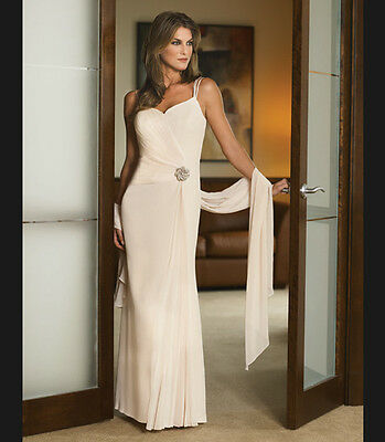 Daymor Style #3001 Size 4 Petite Color New Champagne