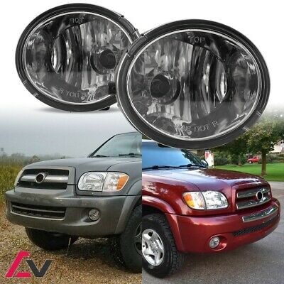00-07 For Toyota Clear Lens Pair Bumper Fog Light Lamp+Wiring+Switch Kit DOT
