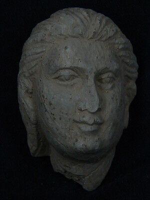 Gandhara/Gandharan Stone Head Of A Youth C.200 AD