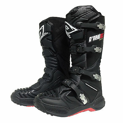 Oneal NEW 2016 Mx Element Platinum Dirt Bike Adult Black Motocross Boots