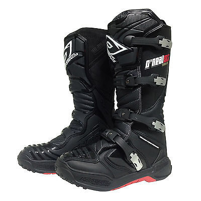 Oneal NEW 2018 Mx Element Platinum Dirt Bike Adult Black Motocross Boots