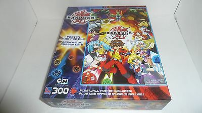 Bakugan Battle Brawlers – 300 piece puzzle with poster -  Mint in Box - anime
