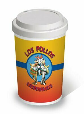 Breaking Bad - Ceramic Travel Coffee Mug / Cup (Los Pollos Hermanos)