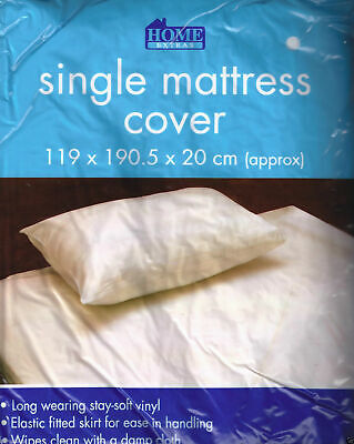 WATERPROOF Single Mattress Protector Matress Sheet Wet Guard Cover Washable soft
