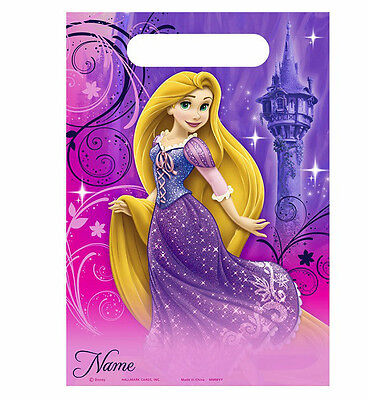 TANGLED SPARKLE Princess Birthday~(8)Loot/Favor Bags ~Birthday Party Supplies