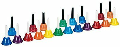 NEW Hand Bell Zenon music bell instrument SET Color CBR-20 Free Shipping FS