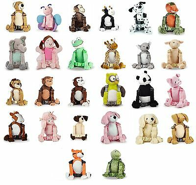 Goldbug Harness Buddy animal walking reins backpack for child toddler ALL DESIGN