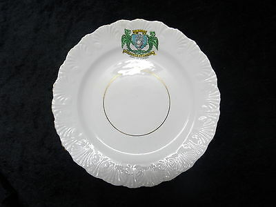 Royal Stafford China Plate - Arms Of Dundee.