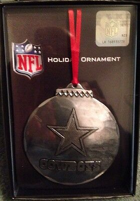Wendell August Forge Dallas Cowboys Christmas Ornament Sold Out