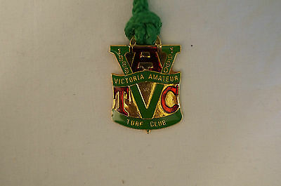 VATC - Victorian Amateur Turf Club - Collectable - 1989 - Members Badge