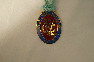VRC - Victoria Racing Club - Collectable - 1978 - Members Badge with Cord.