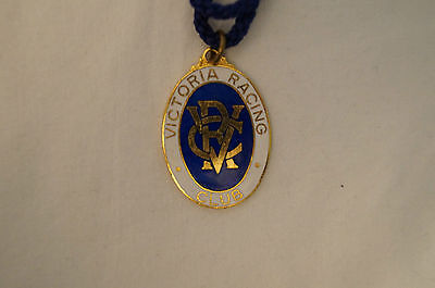 VRC - Victoria Racing Club - Collectable - 1975 - Members Badge with Cord.