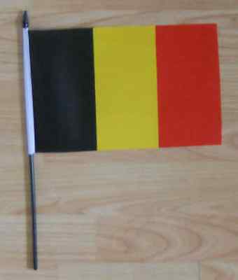 Belgium Country Hand Flag - medium