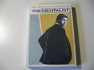 The Mentalist: Complete Sixth Season 6 (DVD, 2014, 5-Disc Set) Brand New Sealed
