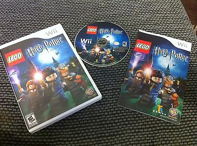 LEGO Harry Potter: Years 1-4  (Wii, 2010)COMPLETE