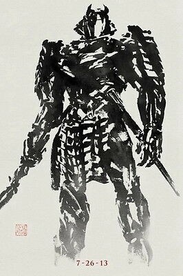 "20 The Wolverine 2013 - Hot Movie Film 24""x36"" Poster"