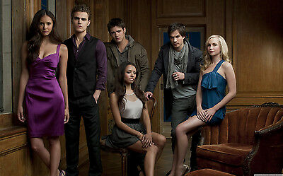 The Vampire Diaries Characters Giant Poster - A0 A1 A2 A3 A4 Sizes